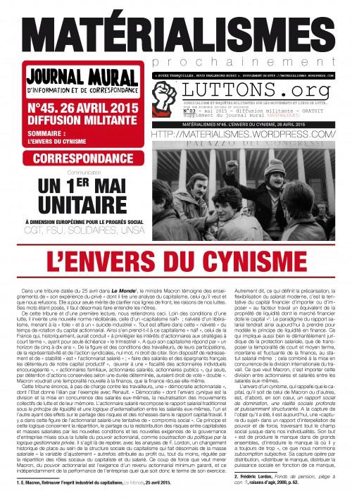 N°45.L'ENVERS DU CYNISME_Page_1