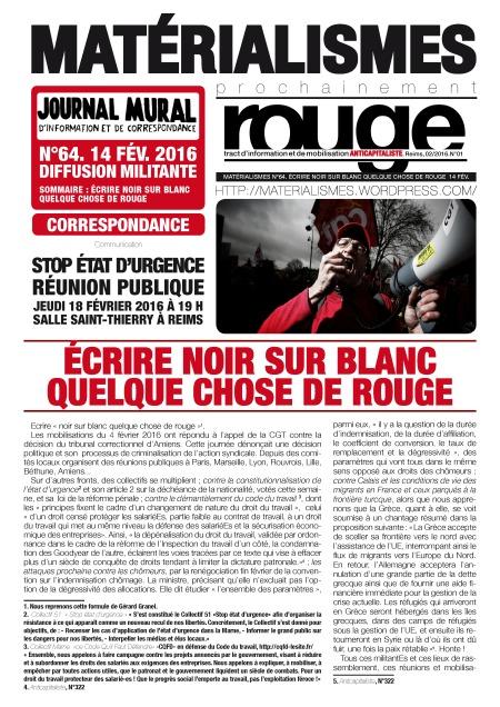 N°64.ECRIRE NOIR SUR BLANC QUELQUE CHOSE DE ROUGE_Page_1